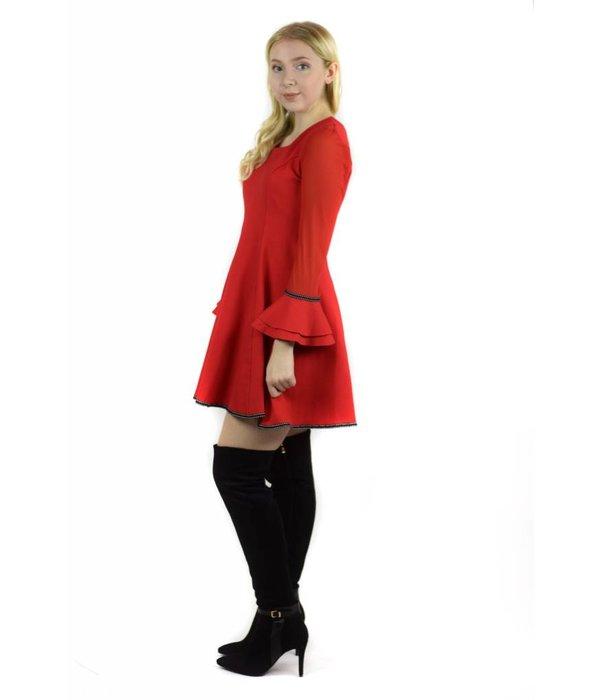 Hazel Dress Red