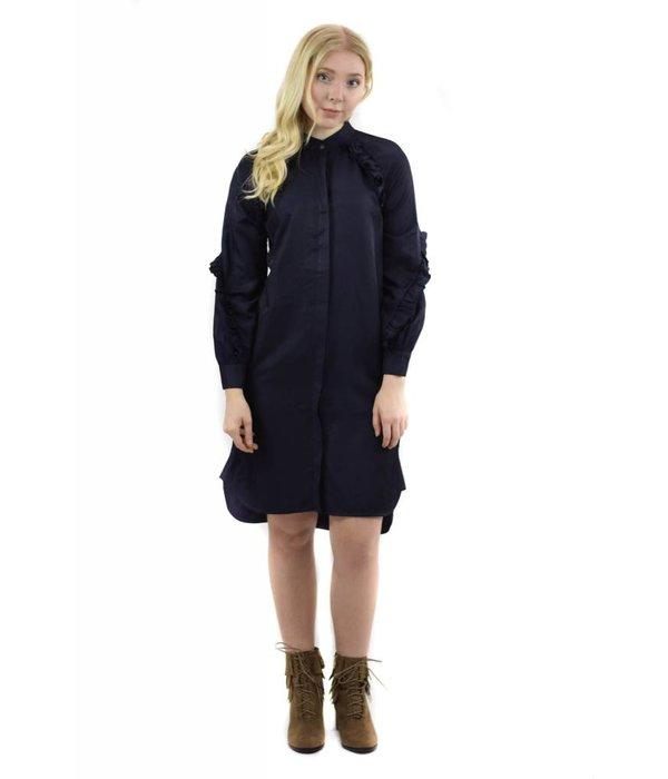 Primrose Dress Navy Blue