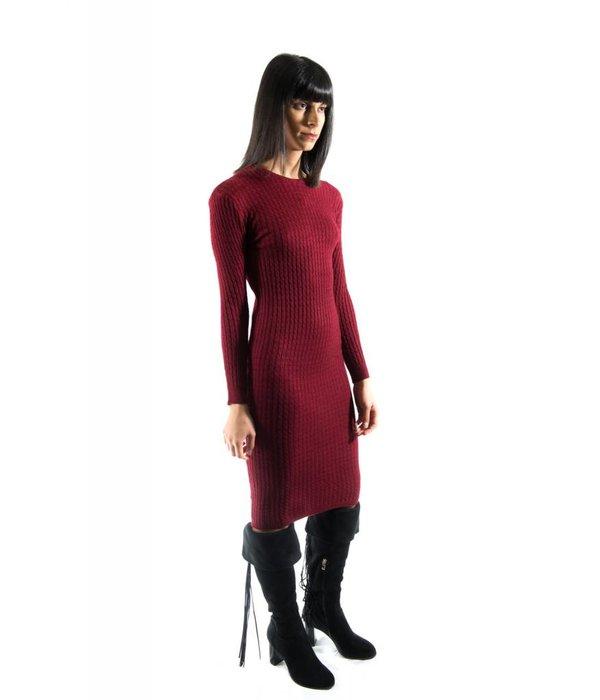 Halsey Dress Red