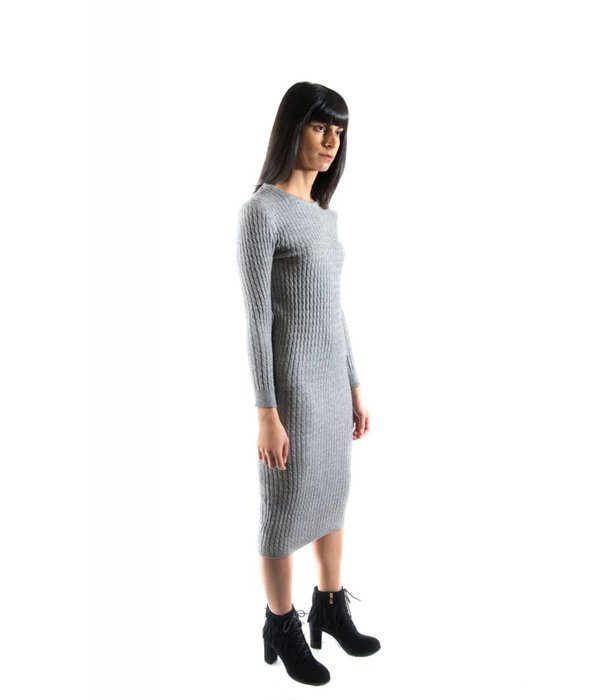 Halsey Dress Grey
