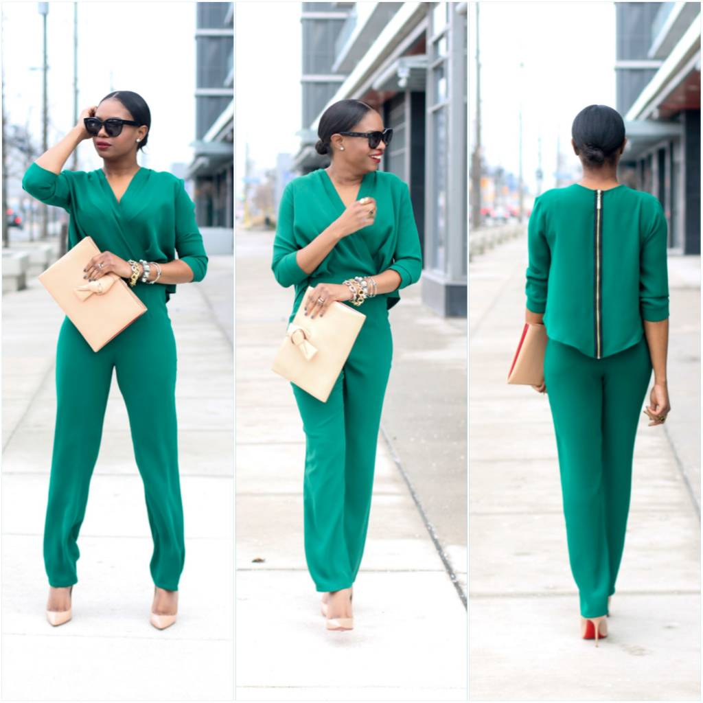 The Perfect Green Jumpsuit