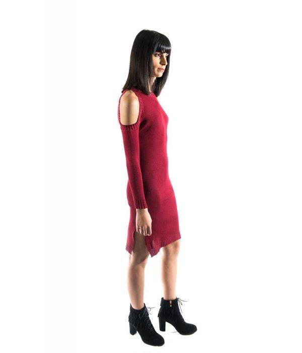 June Dress Red