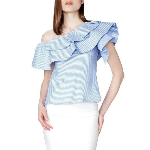 Jeanylyn Top - Light Blue