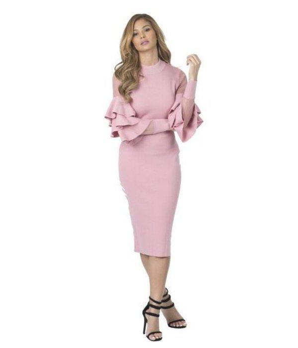Chrissy Pink Dress