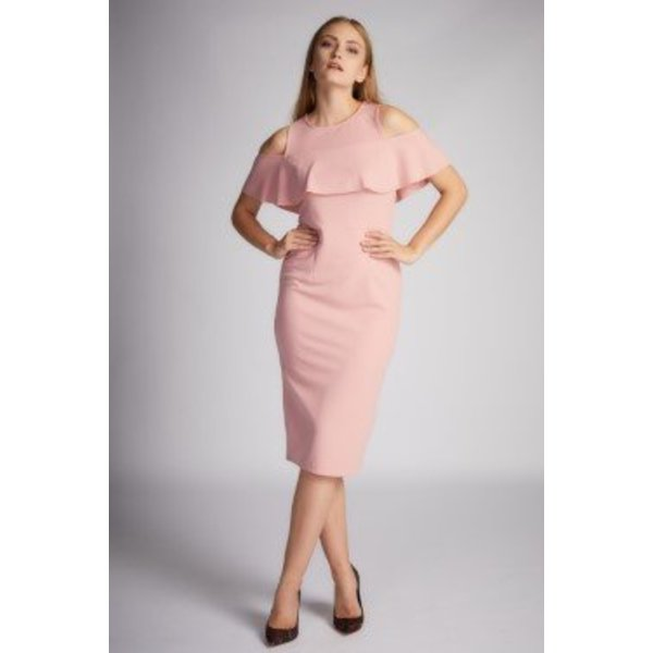 Baylee Dress Rose Wood