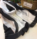 Maren Silk Scarf Black