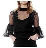 Raquel Blouse Black