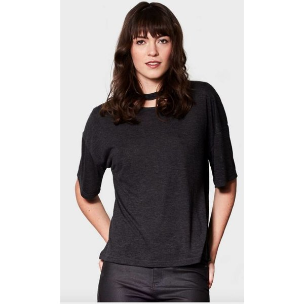 Caitlin Charcoal T-Shirt