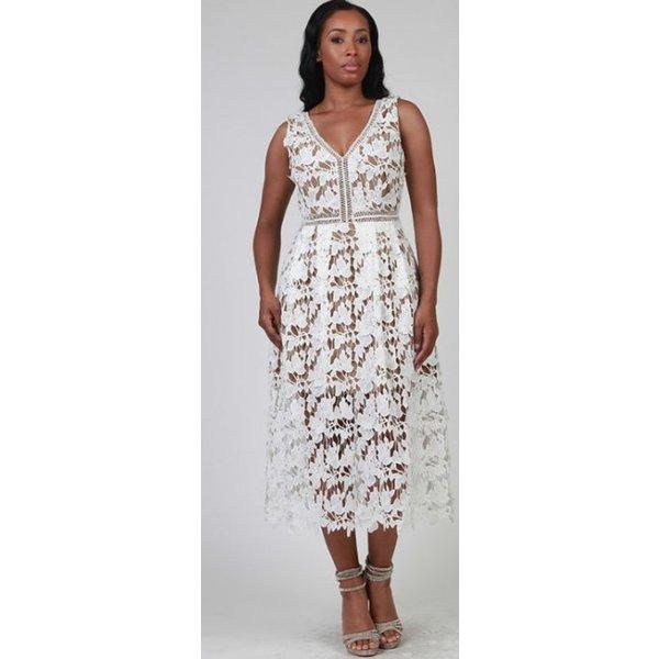 Sonia Dress White