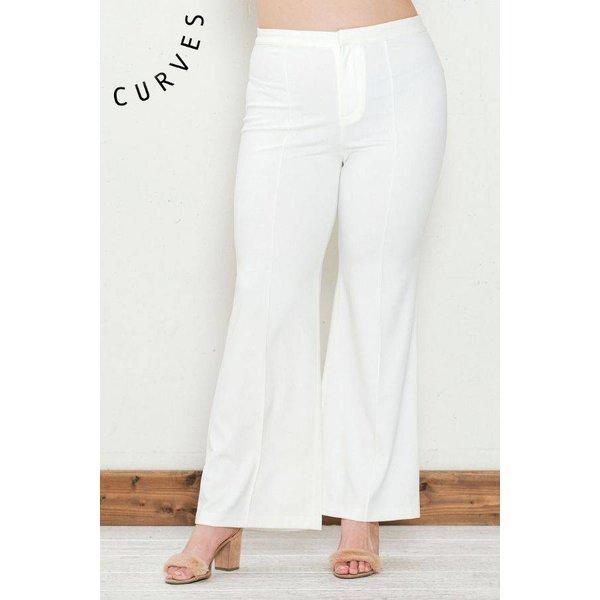 Abelia Pants White