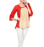 Liza Blouse Orange
