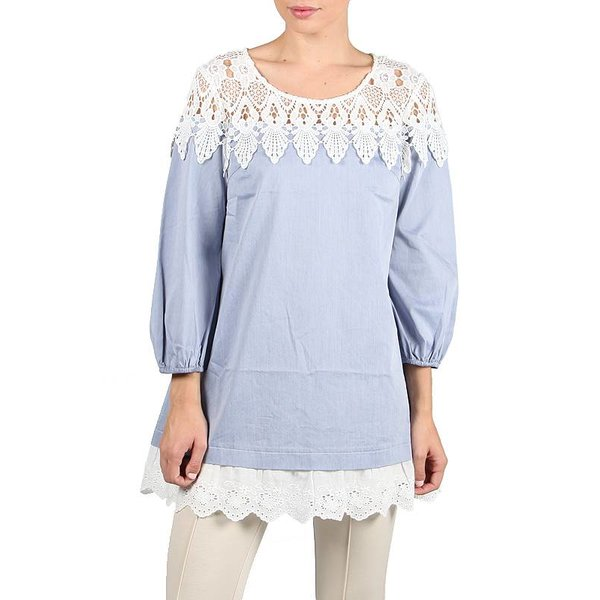 Scheana Blouse Blue