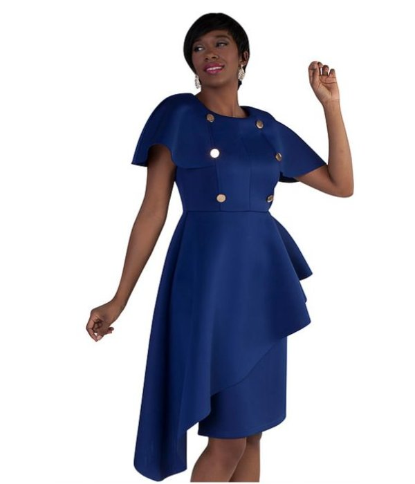Oceanna Dress Cobalt