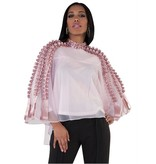 Belinda Blouse Dusty Rose