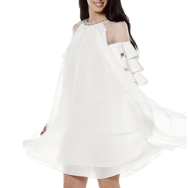 Mariah Dress White