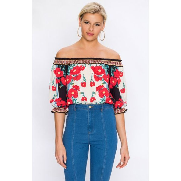 Primula Blouse Multi-coloured