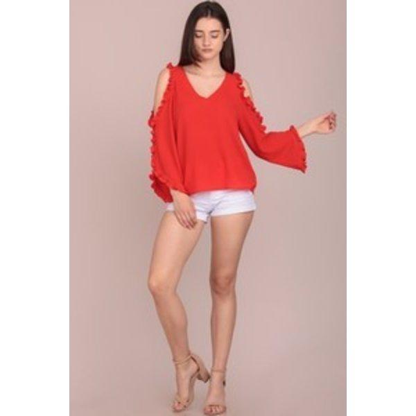 Koleen Orange Shirt