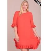 Lidia Short Sleeve Dress