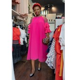 Mariah Dress Fuchsia