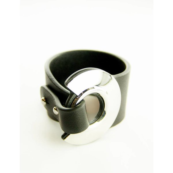 Armelle Black and Silver Bracelet