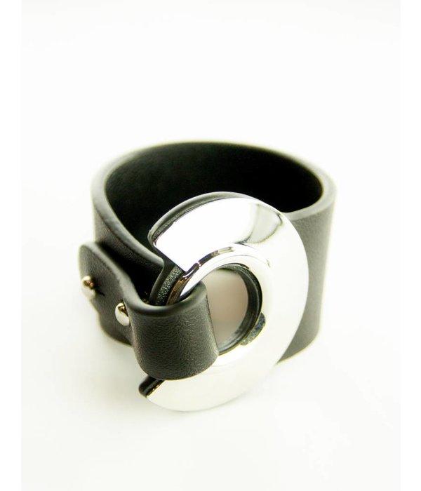 Armelle Black and Silver Bracelet