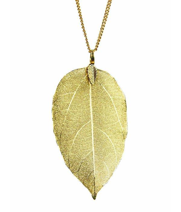 Denise Leaf Necklace