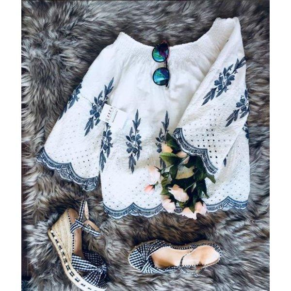 Antonella Blouse White