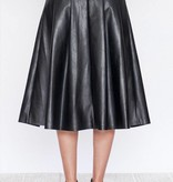 Zora Leather Skirt