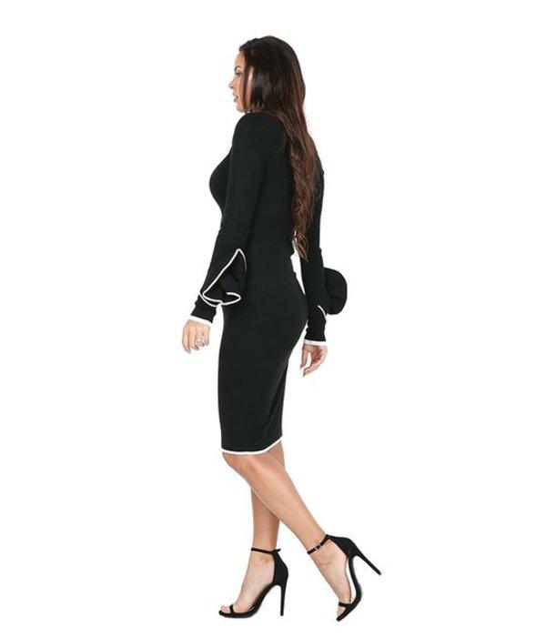 Angelina Dress Black