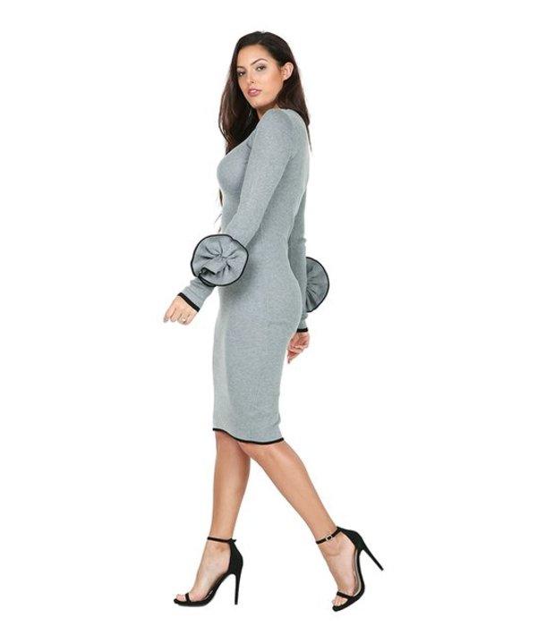 Angelina Dress Grey