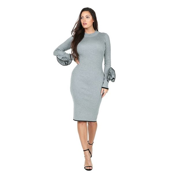 Angelina Dress Grey