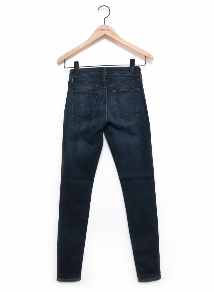"""JUST USA 9"""" RISE OVERDYE SKINNY JEANS"""