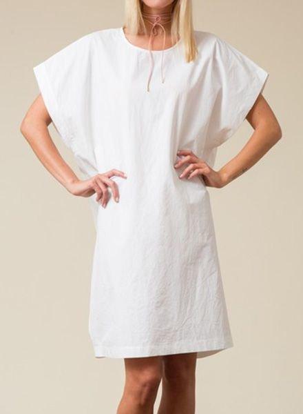 BOXY COTTON TUNIC DRESS
