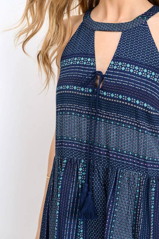LILY MAXI PRINT DRESS