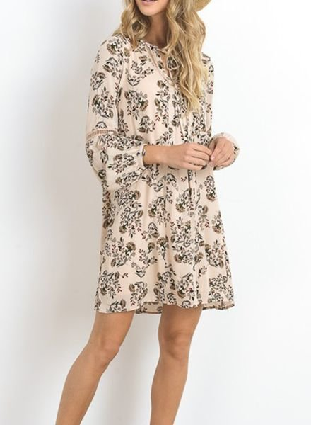 ALY PEASANT DRESS