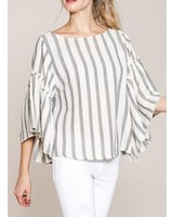 SICILY STRIPE TOP