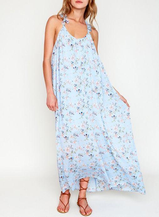 NINA FLORAL MAXI DRESS