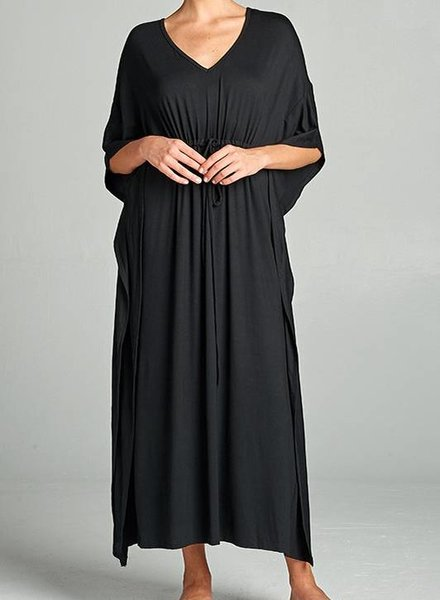 MAGGIE MAXI DRESS BLK