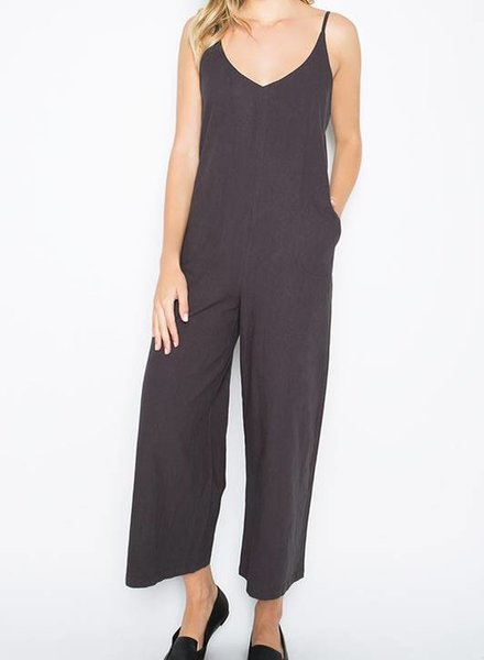 CHARLIE CHARCOAL JUMPSUIT