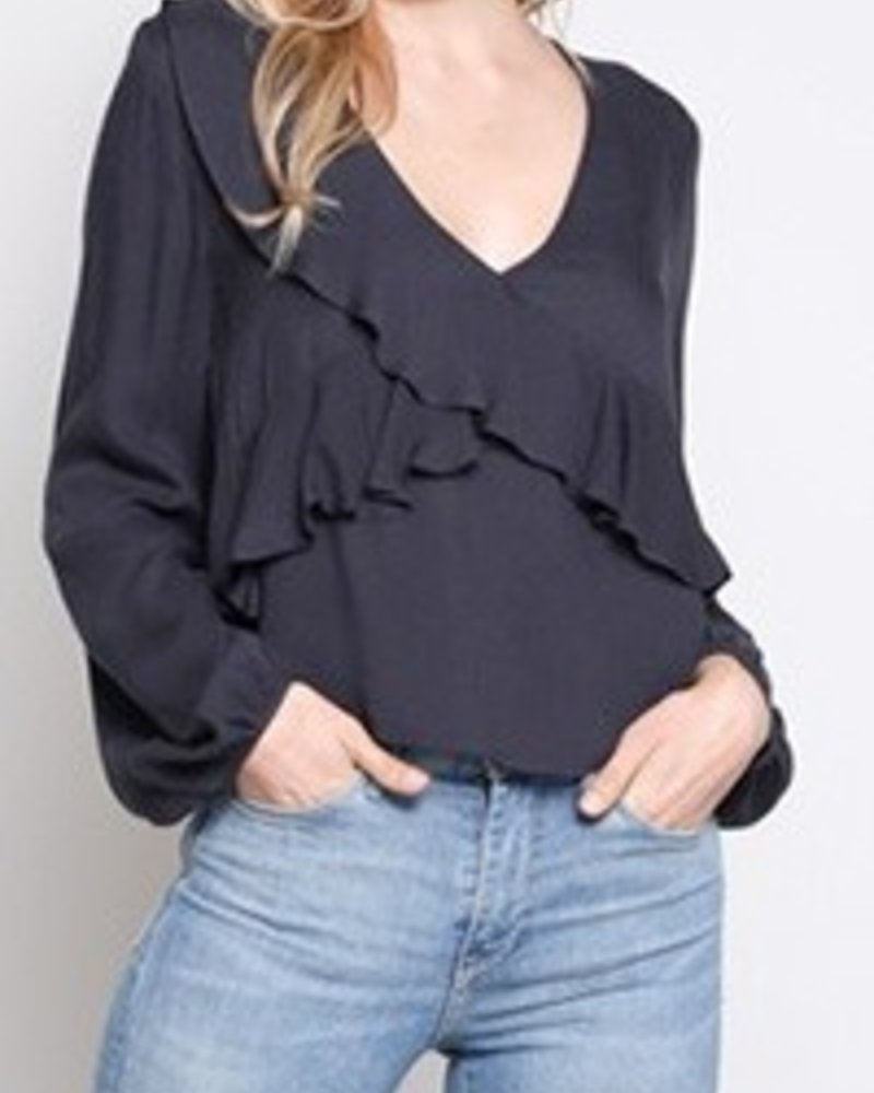 MADRID RUFFLE TOP