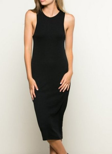 SOPHIA DRESS BLK