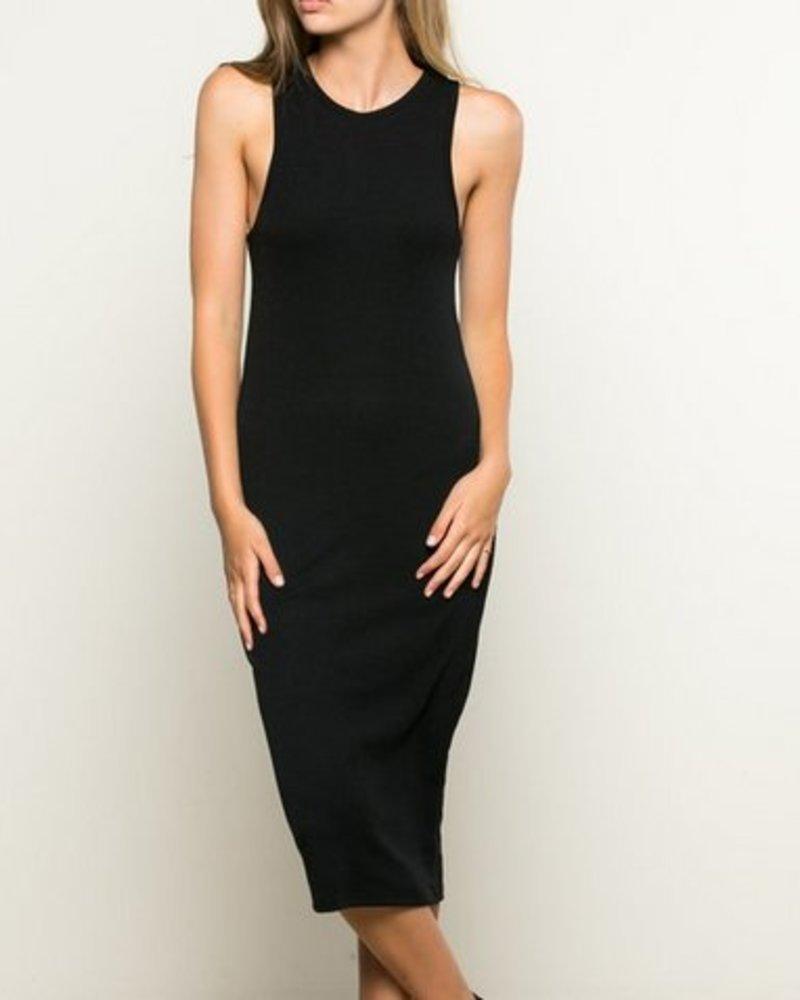SOPHIA DRESS BLK