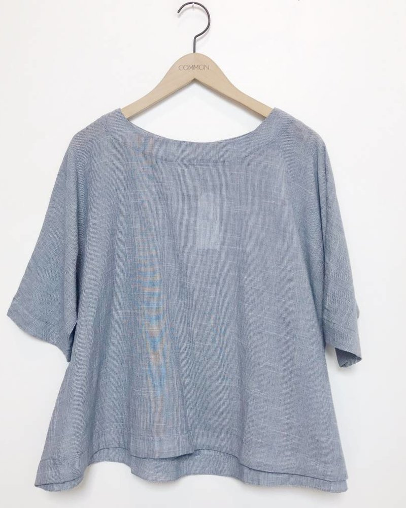 ELLA TOP CHAMBRAY