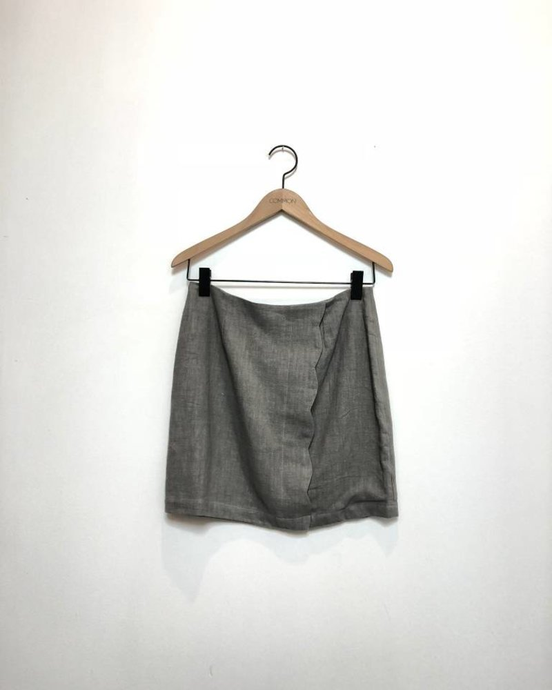 GIGI MINI SKIRT GREY
