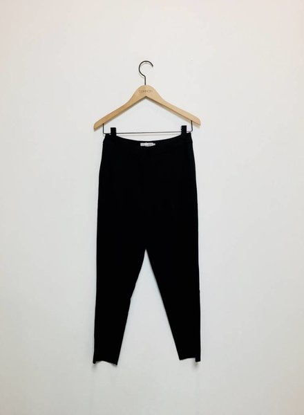 CARA CROPPED TROUSER PANT BLK