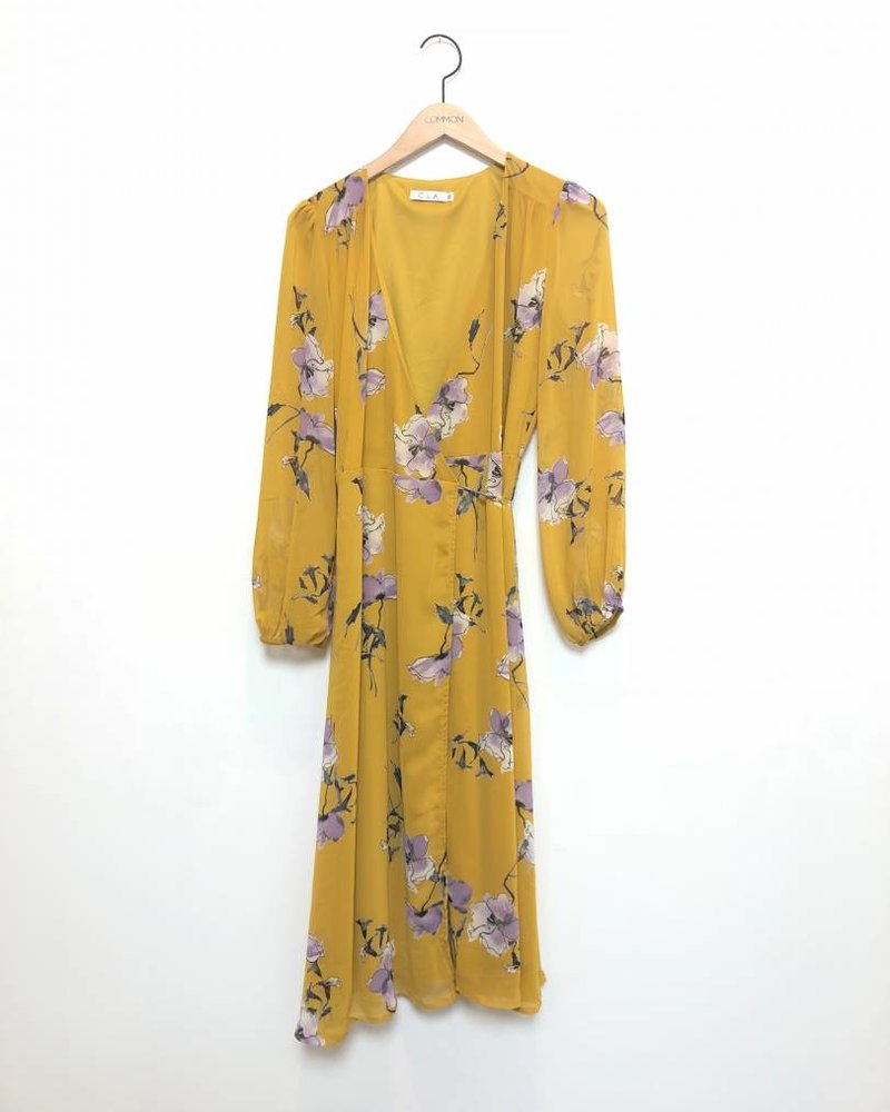 THE WINSLOW DRESS YLW