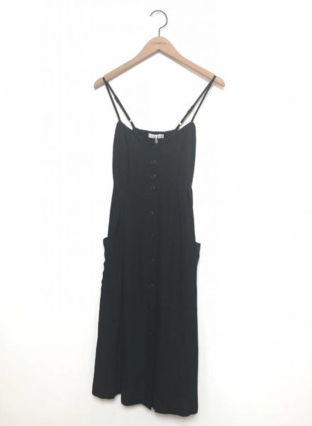 JUNE MIDI DRESS BLK