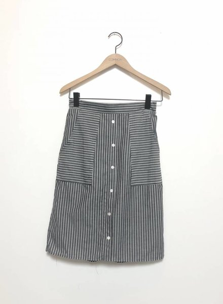 STRIPE MARKET SKIRT
