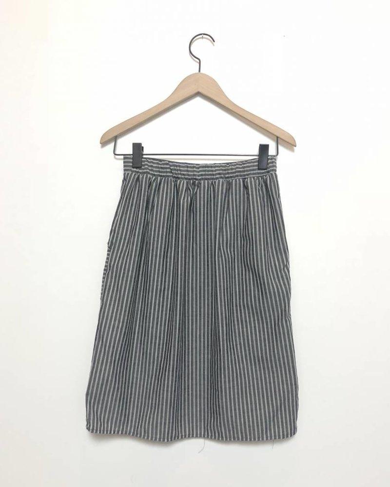 Stripe Market Skirt