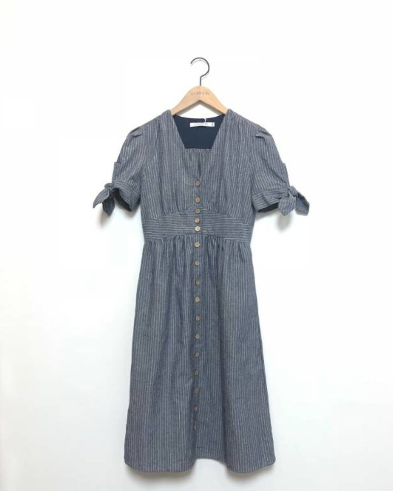 ALY BUTTON DOWN DRESS